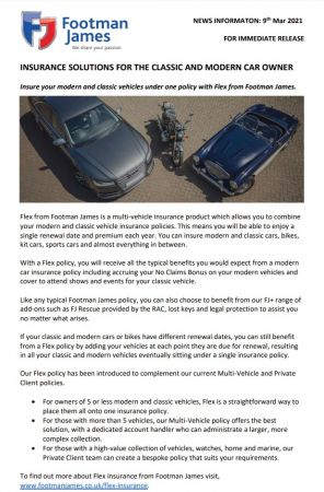 Insurance Solutions for the Classic and Modern Car Owner